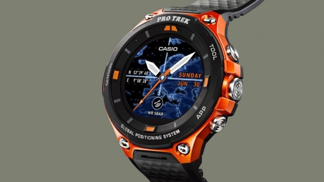Casio Pro Trek ideal pour la randonnee