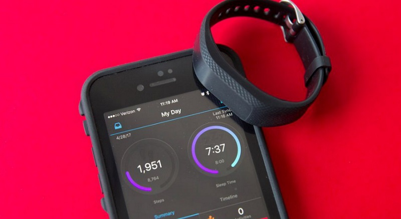 Garmin Vivosmart 3 et application de fitness